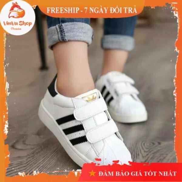 Giá bán Vinvu ShopGiày trẻ em Giày thể thao 3 sọc cho bé trai, bé gái (size 21-36)