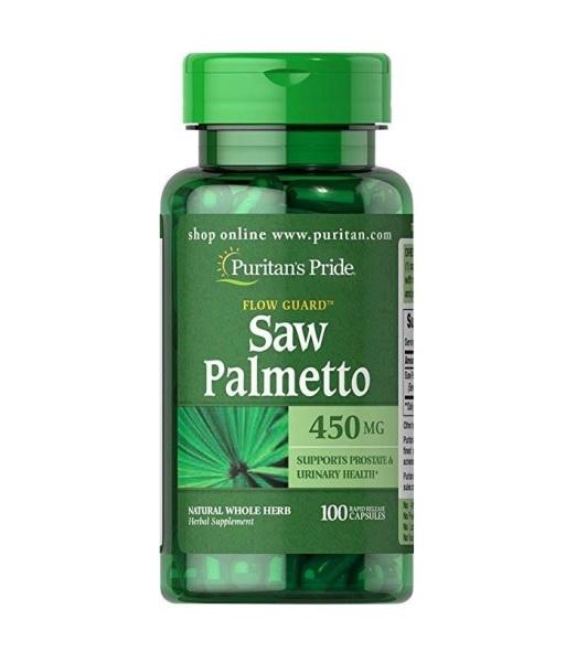 Viên uống hỗ trợ đường tiết niệu Saw Palmetto 450 mg 100 viên