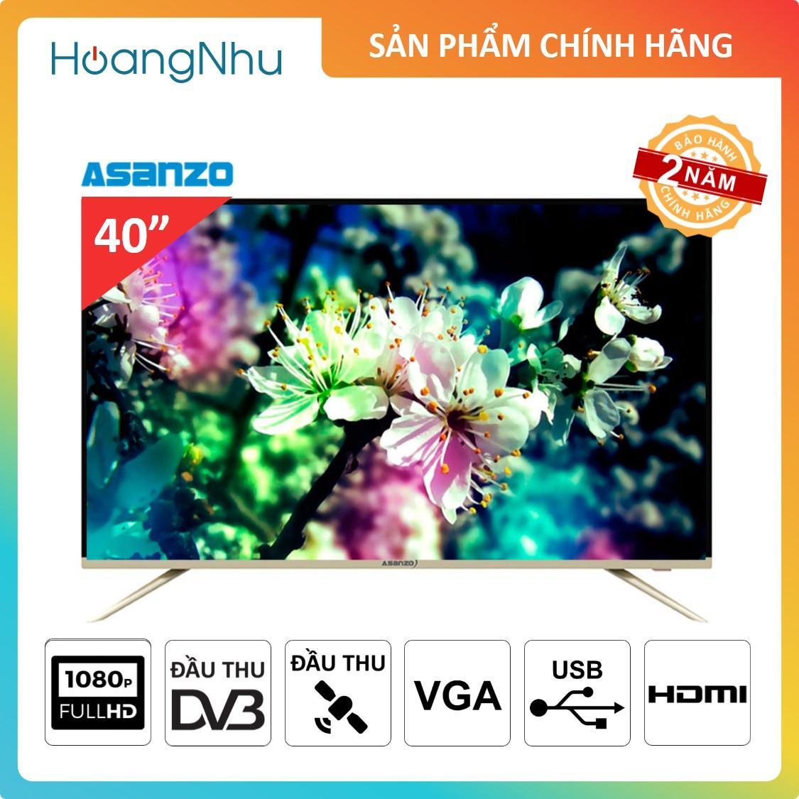 Bảng giá TV LED Asanoz 40AT320 40 inch ( Full HD, Đầu thu KTS & Vệ tinh )
