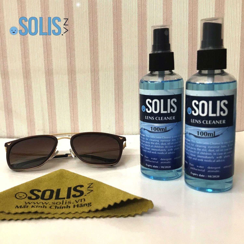 02 Chai nước rửa kính chuyên dụng Solis 100ml Nhật Bản