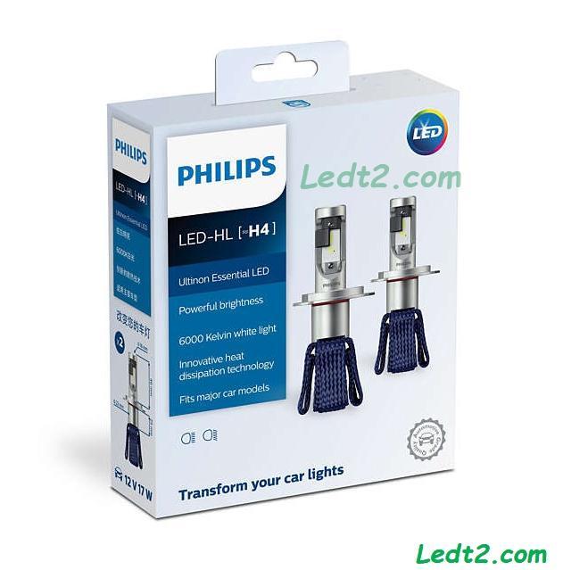 [LEDISOP] [Bảo hành: 3 năm] Đèn pha LED Philips Ultinon Essential [SL: 1 cái]