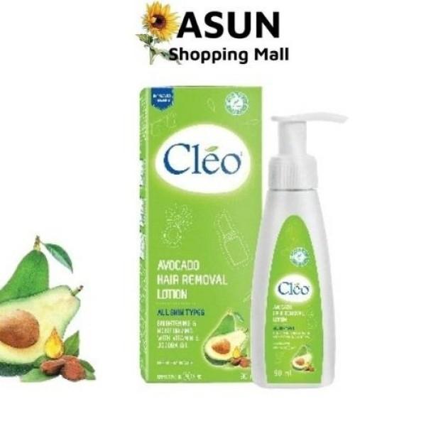 Kem Bơ Tẩy Lông Dạng Sữa Cleo Dưỡng Chất Từ Bơ Giúp Da Mịn Màng 90ml