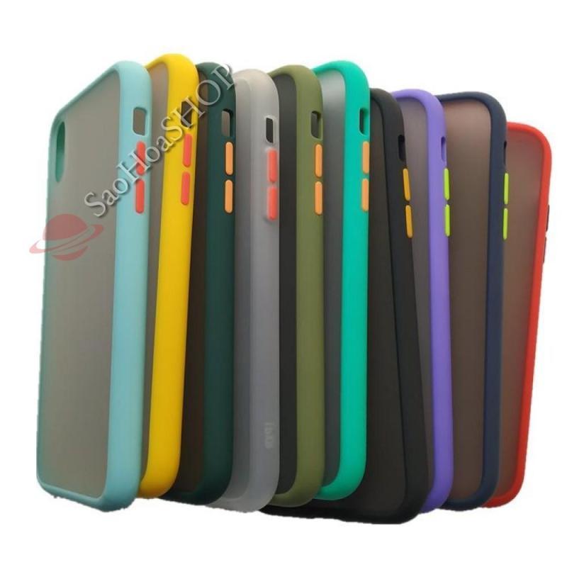 Giá Ốp lưng nhám mờ viền chống bẩn cho iPhone đủ dòng 6, 7, 8, plus, X, XR, Xsmax, 11, 11 pro max (Màu tự chọn)