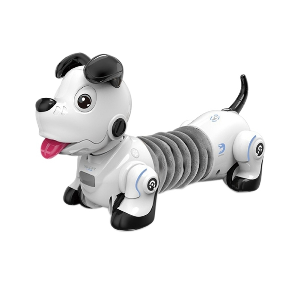 Electric Infrared Remote Control Dachshund Robot Dog Wireless Follow Electronic Pet Childrens Toy