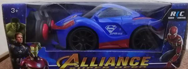 ô tô điều khiển từ xa  biệt đội siêu anh hùng màu xanh