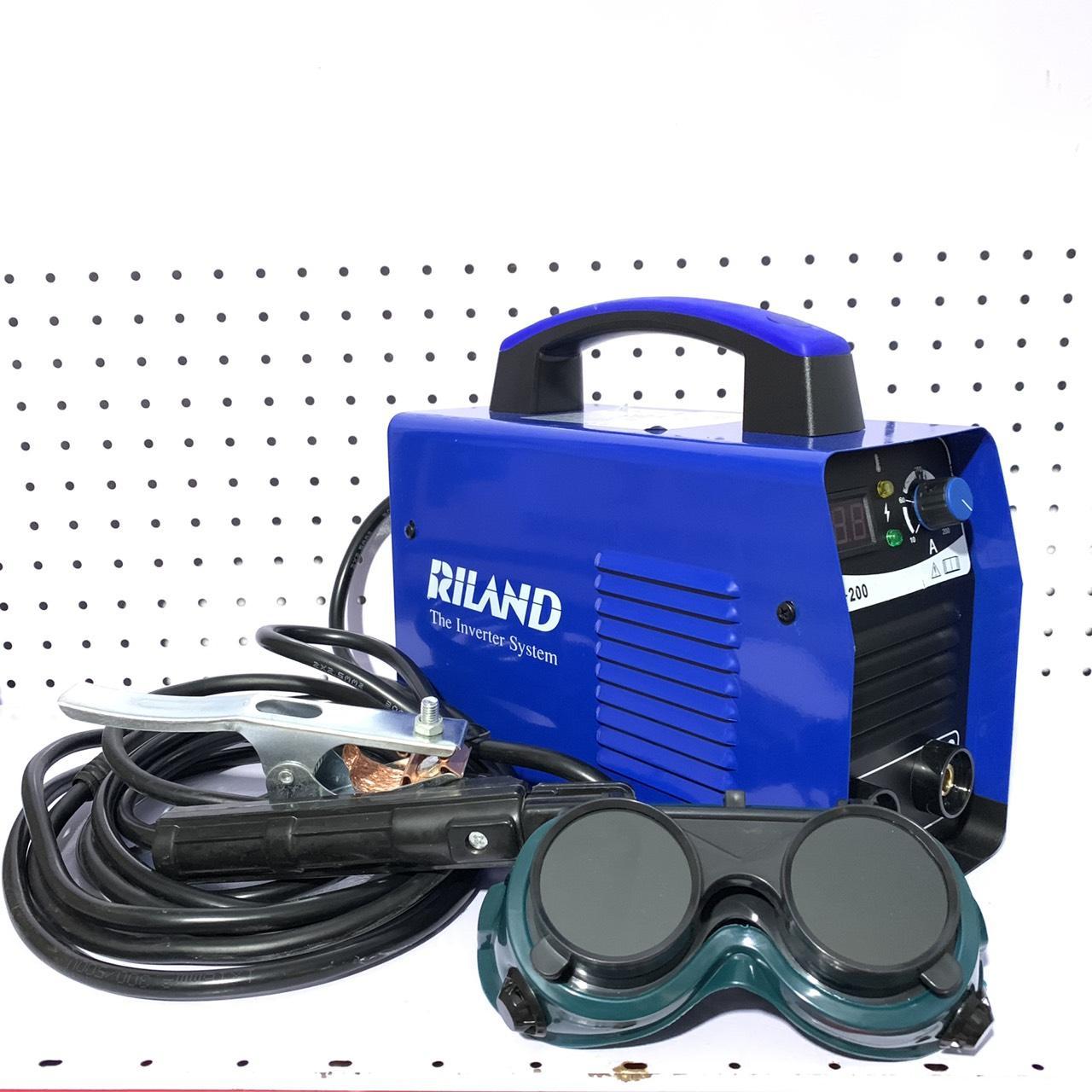 máy hàn điện tử Riland ARC200 mini, máy hàn điện tử, vietsun, máy hàn mini, máy hàn giá rẻ, máy hàn