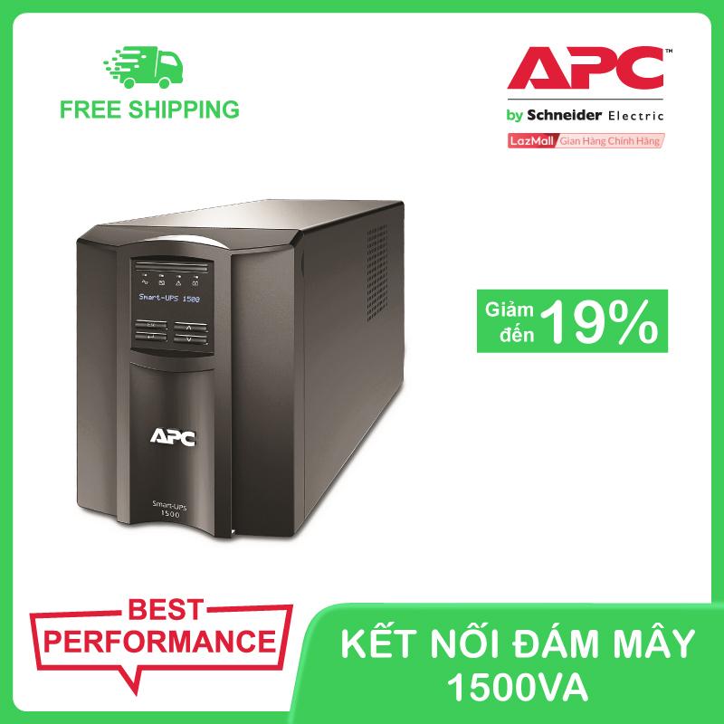 Bảng giá Bộ lưu điện kết nối thông minh APC Smart-UPS 1500VA LCD 230V Phong Vũ