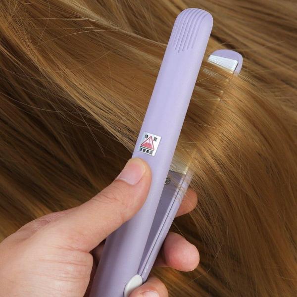 Duỗi tóc mini- Máy bấm tóc mini du lịch tặng hộp đựng cao cấp - TM016 cao cấp