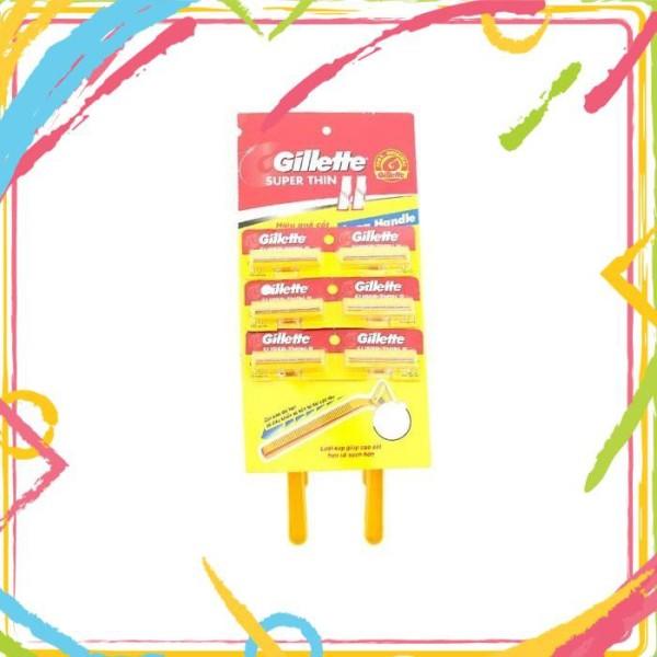 DAO CẠO DU LỊCH GILLETTE [shophoakho] giá rẻ