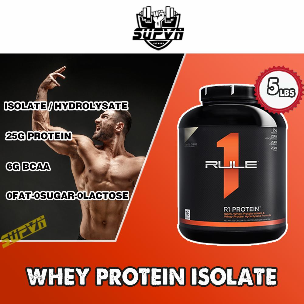 Rule 1 Protein 5Lbs - Sữa Tăng Cơ Rule1 - Whey Protein R1 Có Giá Siêu Tốt