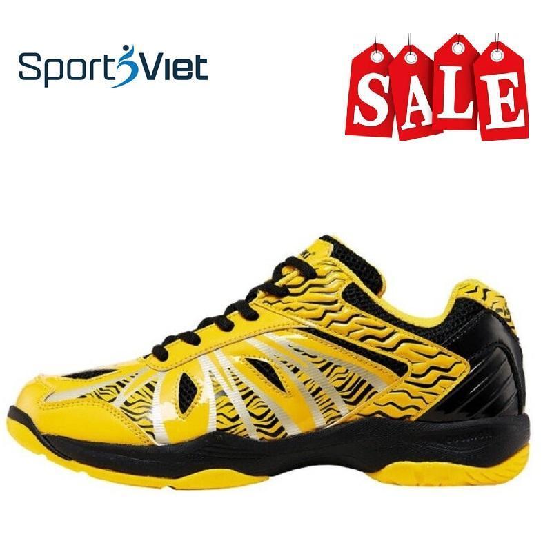 Giày thể thao Kawasaki K076 mầu vàng (cầu lông, bóng chuyền, bóng bàn, bóng ném)