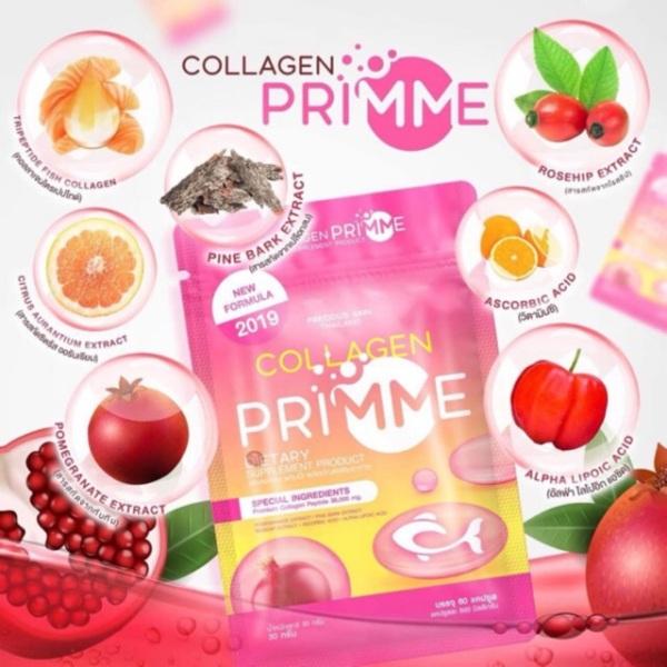 Viên uống trắng da Collagen Primme Thái Lan