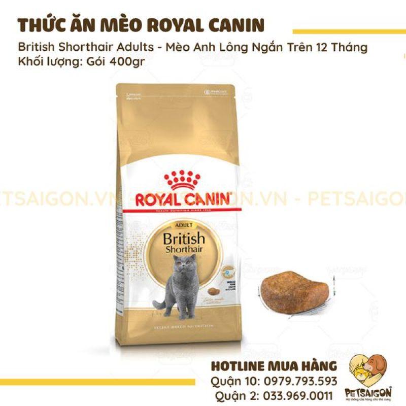 ROYAL CANIN - BRITISH SHORTHAIR ADULTS