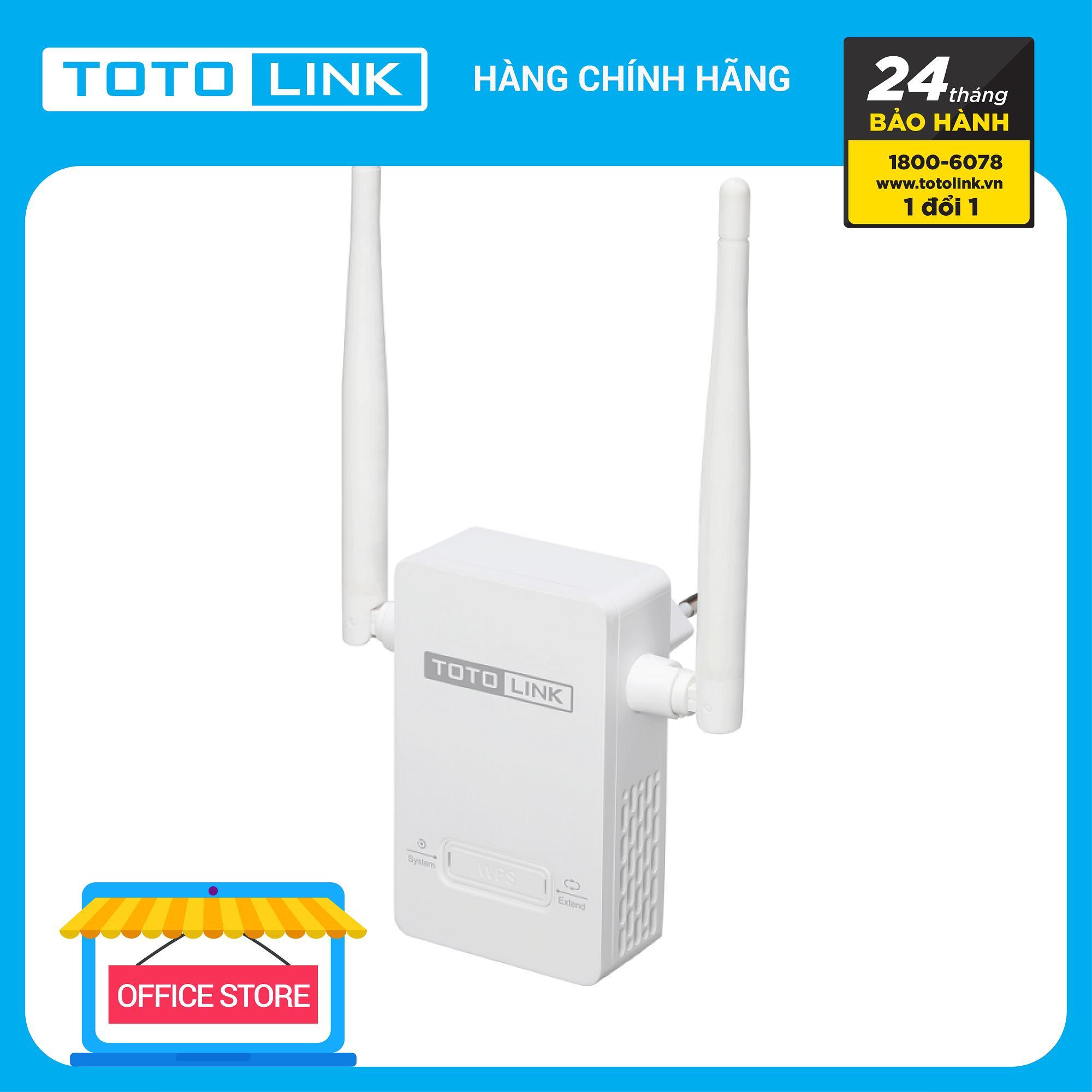 Mã Khuyến Mãi Mở Rộng Sóng Wi-Fi Chuẩn N 300Mbps - EX200 - TOTOLINK