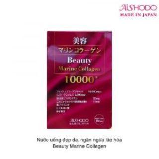Bột uống đẹp da Beauty Marine Collagen 10.000mg Nhật Bản thumbnail