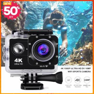 GIẢM GIÁ SỐC CAMERA HÀNH TRÌNH A19 - Camera 4K Ultra HD Có REMOTE - Camera Hành Trình Mini Chống Nước, Camera Phượt Thể Thao - Chống Rung Tự Động Lấy Nét Kèm Thẻ 64gb Hoặc 32gb ( Bảo Hành 12 Tháng ) thumbnail