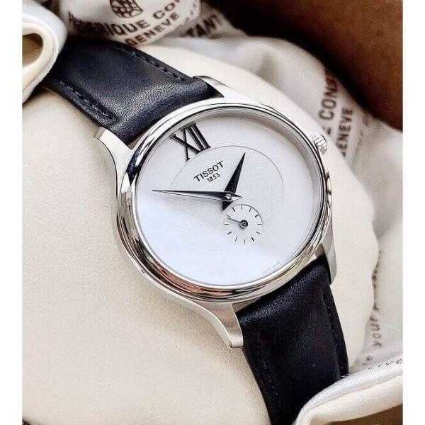 Đồng hồ nữ Tissot T1033101603300 mặt oval (Đường kính: 28mm x 31.4mm) Full Box ⚜️Hàng Authentic⚜️