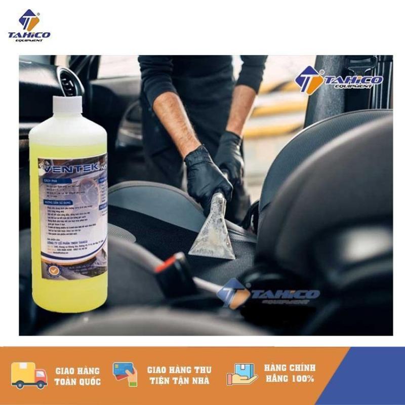 Dung dịch vệ sinh nội thất Ventek(texil) 1L