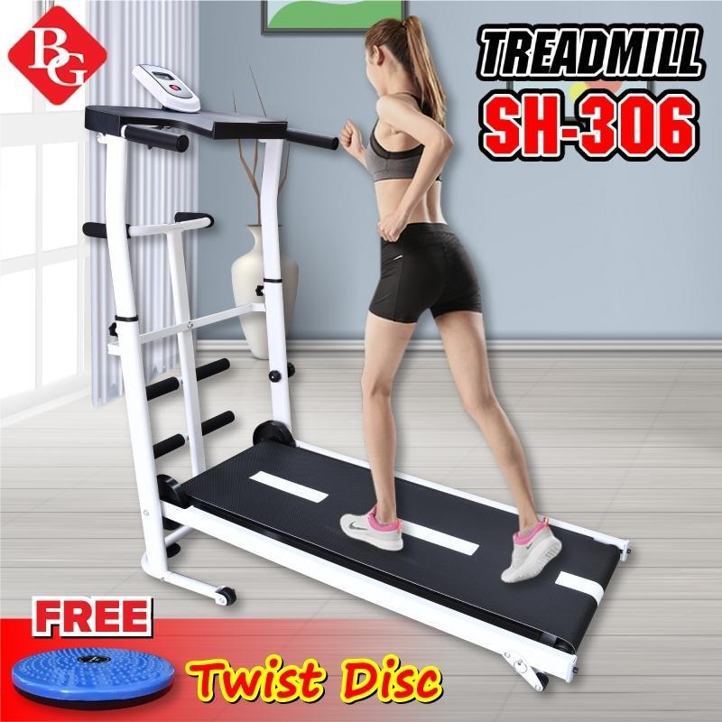 Bảng giá (Có video) BG -TẾT ĐẾN XUÂN SANG LỘC ĐẦY VƯỜN -  Máy chạy bộ cơ đa năng mẫu mới Treadmill SH - S306 5 in 1