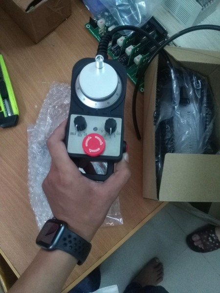 Tay cầm vi sai CNC Mach3 CNC – có nút Reset