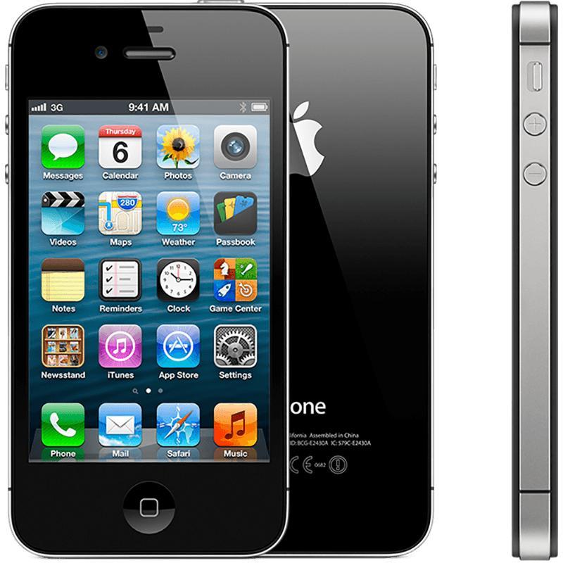 Điện thoại smartphone giá rẻ - I-phone IPhon 4S 16G phiên bản quốc tế - tặng dây sạc (Màu ngẫu nhiên trắng/đen) - Everything Store