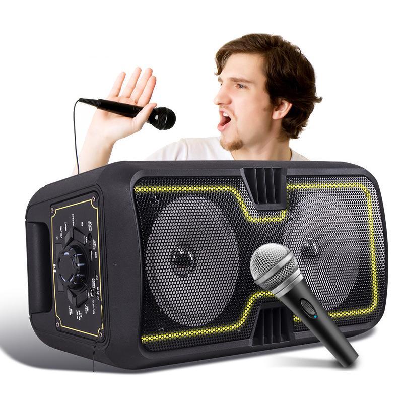 Loa Karaoke Bluetooth Bass S6 Nhật Bản