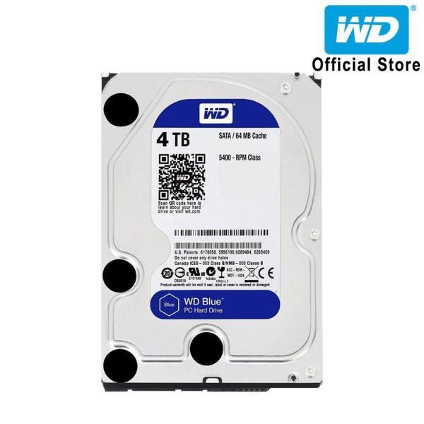 Bảng giá Ổ cứng HDD WD Blue 4TB 3.5 inch SATA III 64MB Cache 5400rpm WD40EZRZ Phong Vũ
