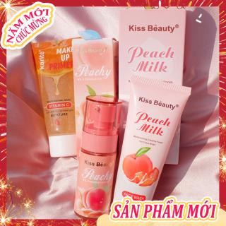 [Peachy Sis Shop] Bộ trang điểm cơ bản cho khuôn mặt 3 món đầy đủ(Kem cách ly Trong suốt+kem BB+Sữa rửa mặt) thumbnail