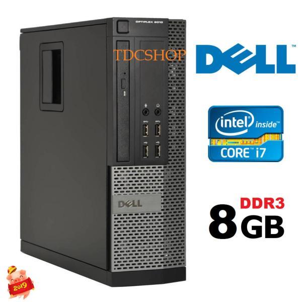 Bảng giá Thùng máy tính đồng bộ DELL Optiplex 9010 cấu hình khủng, Intel core i7 3770, ram 8GB, ổ cứng SSD 240GB.Bảo hành 2 năm Phong Vũ
