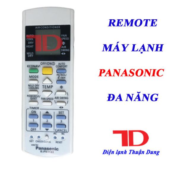 Remote máy lạnh PANASONIC đa năng dùng cho các đời