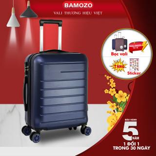 Vali DU LỊCH Bamozo BMZ8818 vali kéo nhựa cao cấp thumbnail