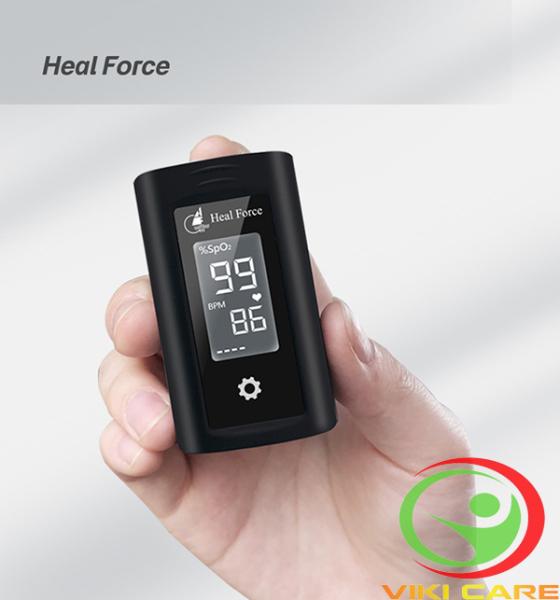 Nơi bán Máy Đo Nhịp Tim -  Nồng Độ Spo2 Heal Force 100A