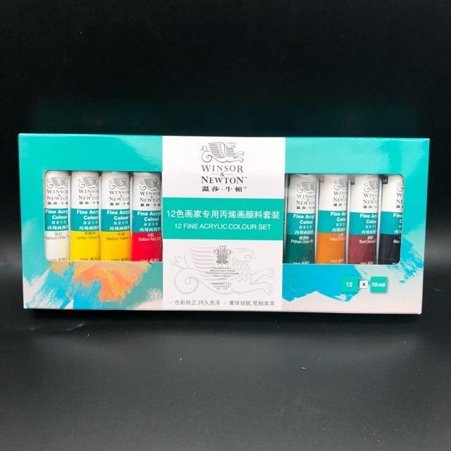[Siêu Rẻ] Màu vẽ móng set 12 màu siêu đặc - NL22 tốt nhất
