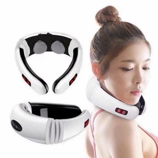 Máy mát xa hàn quốc - Dai mat sa - Máy massage cổ, vai, gáy cao cấp Cervical SH-208- Dòng máy massage được ưa chuộng hiện nay-