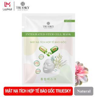 Mặt nạ giấy tích hợp tế bào gốc Truesky giúp làm sáng da, dưỡng ẩm và ngăn ngừa lão hoá - Integrated Steam Cell Mask thumbnail