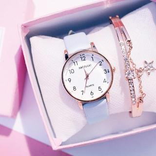 Đồng hồ thời trang nữ Candycat mặt số dây da mặt kính 3D V343 thumbnail