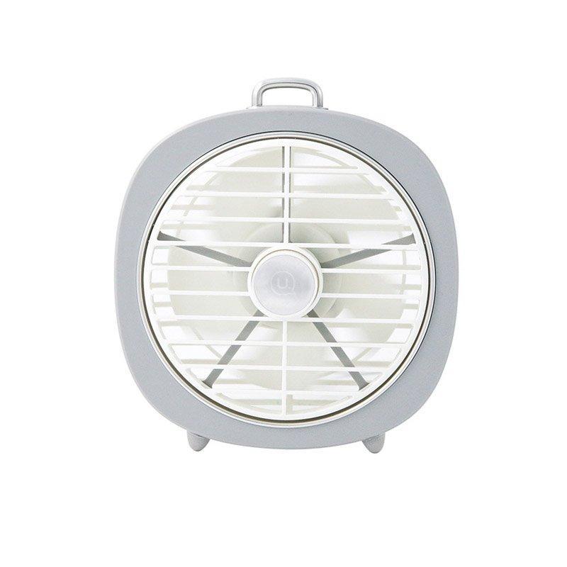 Bảng giá Quạt bàn mini có đèn USAMS US-ZB065 Desktop mini Lamp Fan (Màu xám Gray) Điện máy Pico