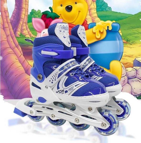 Mua Giày Patin trẻ em tặng mũ và đồ bảo hộ (5 đến 14 tuổi) mua giày trượt patin cho bé,  giày patin giúp bé phát triển thể chất, năng động, khỏe khoắn