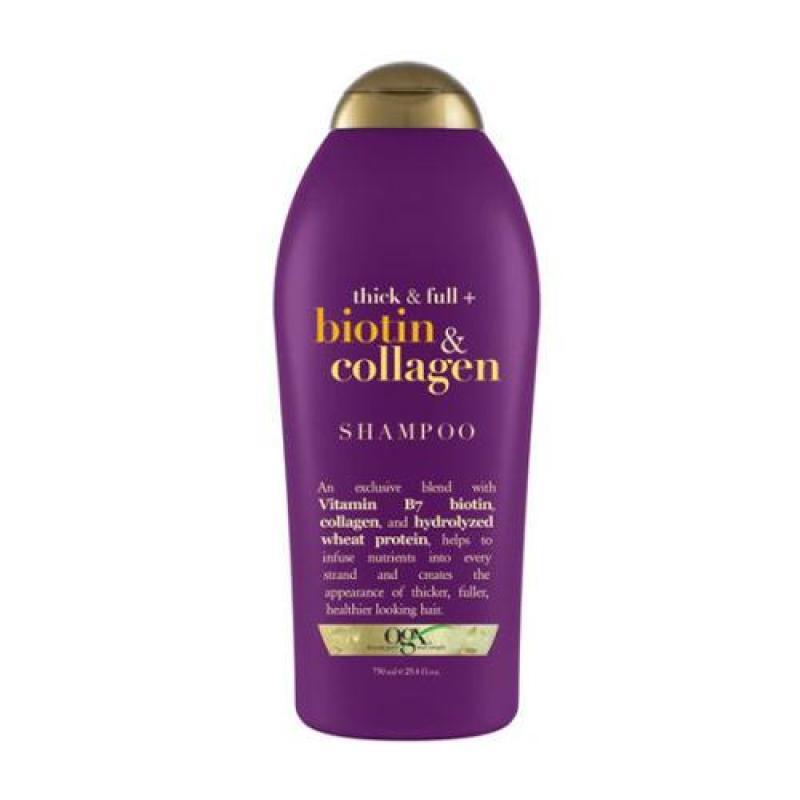 1 chai Dầu gội chống rụng và kích thích mọc tóc Thick & Full Organix Biotin & Collagen Thể tích 750ml giá rẻ