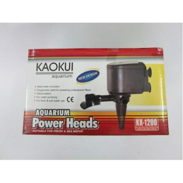 Máy bơm lọc nước hồ cá cảnh 20W KAOKUI KK-1200 - Bơm Nước 3 trong 1 ( Hút, Đẩy, Thổi Oxy)