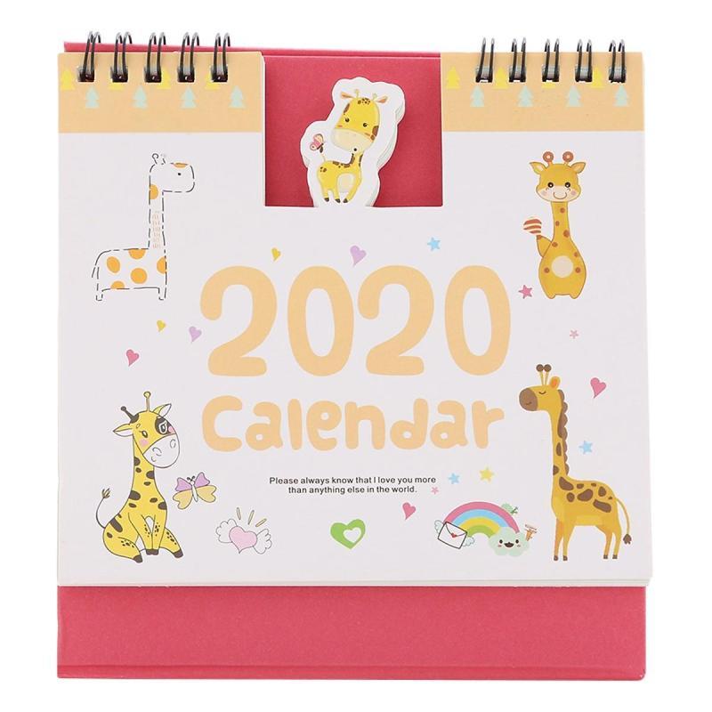 Lịch Để Bàn 2020 (15 x 16cm) Cute Animal