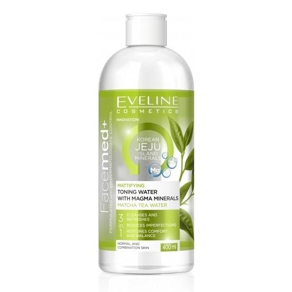 [HCM]Nước hoa hồng kiềm dầu Eveline Facemed 400ml