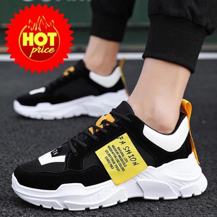 Giày thể thao nam sneaker TAIKI Giày thể thao đẹp đế Tăng 5cm chiều cao giá rẻ