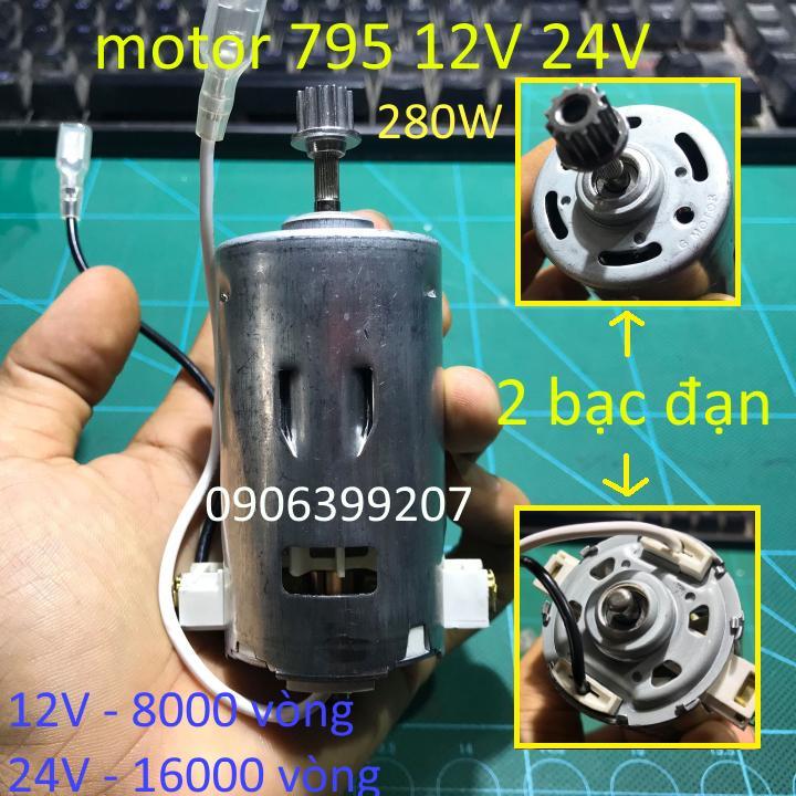 MOTOR 795 MOTOR 12V