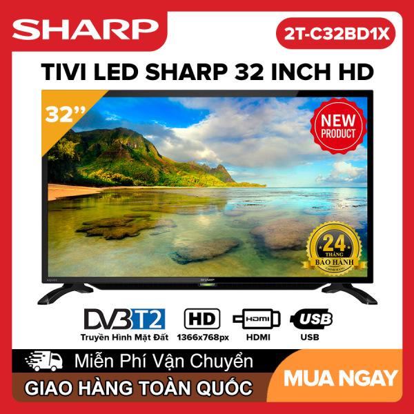 Bảng giá Tivi Led Sharp 32 inch HD - Model 2T-C32BD1X HD Ready, DVB-T2, Tivi Giá Rẻ - Bảo Hành 2 Năm