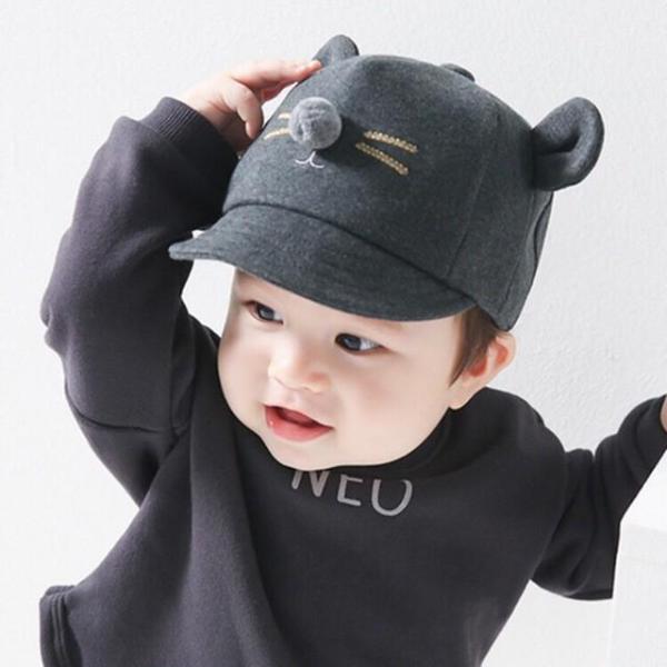 Mũ tai chuột cho bé trai/ bé gái