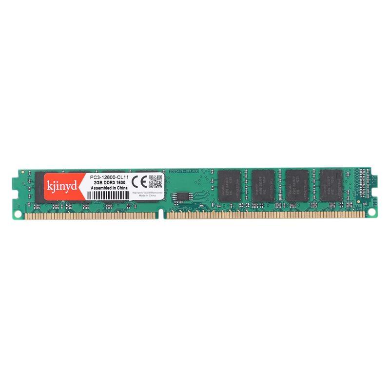 KJINYD 3 2G Pc Ram Memory Dimm 1.5V 240 Pin Desktop Ram Internal Memory Ram For Computer Games Ram