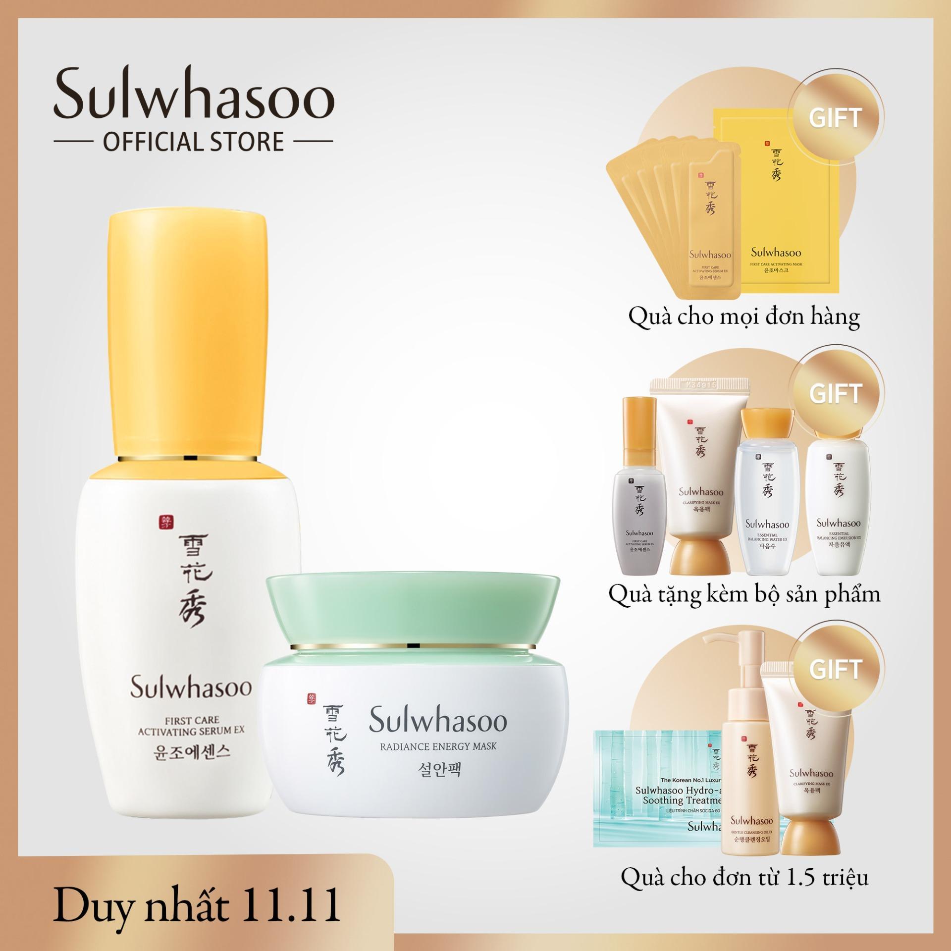 Bộ dưỡng da tinh khiết và rang rỡ Sulwhasoo Radiance Journey Set