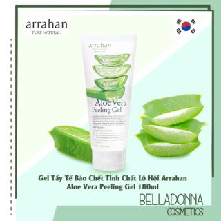 Gel Tẩy Tế Bào Chết Tinh Chất Lô Hội Arrahan Aloe Vera Peeling Gel 180ml thumbnail