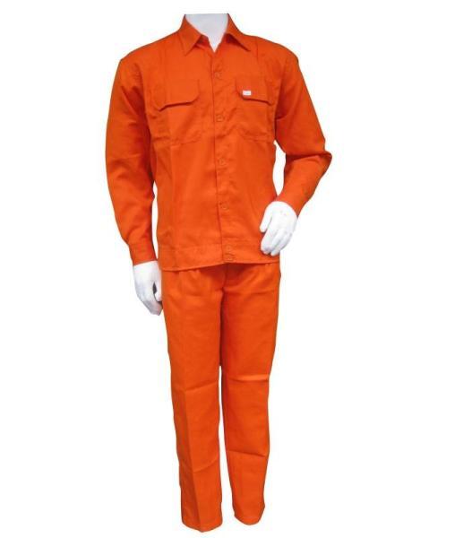 [HCM]Bộ Quần và áo Bảo Hộ Lao Động Màu Xám Ghi Màu Xanh Công NhânMàu Cam thợ Điện